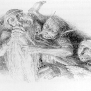 Gandalf contra los trasgos