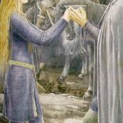Éowyn y Aragorn