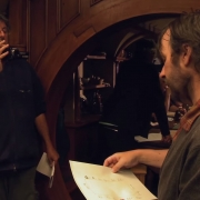 Andrew Lesnie y Peter Jackson