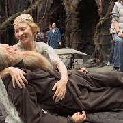 Ian McKellen y Cate Blanchett