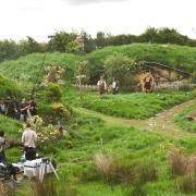 Rodaje en Hobbiton