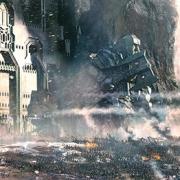 Arte conceptual de la Batalla de los Cinco Ejércitos
