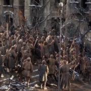 Los Hombres van hacia la lucha