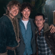 MartIn Freeman, Benedict Cumberbatch y Luke Evans