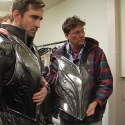 Lee Pace y Richard Taylor