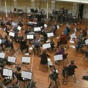 Grabación de la música de La Desolación de Smaug