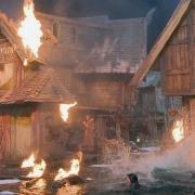Esgaroth en llamas