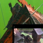 Bardo trepa por los tejados de la Ciudad del Lago