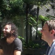 Aidan Turner y Martin Freeman