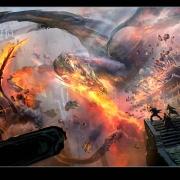 Diseño conceptual del ataque a Smaug a Valle de Gus Hunter