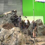 Orlando Bloom y Evangeline Lilly se preparan para rodar