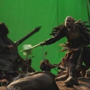 Thorin y Azog en la Batalla de Azanulbizar