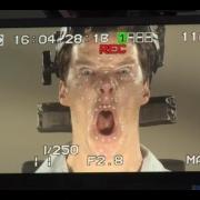 Benedict Cumberbatch hace la captura facial de Smaug