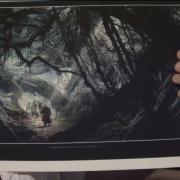 Boceto del Bosque Negro en detalle