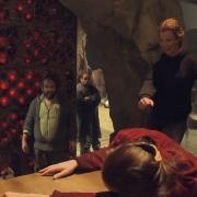 Evangeline Lilly baila para Peter Jackson