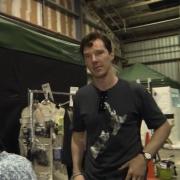 Benedict Cumberbatch en el rodaje adicional