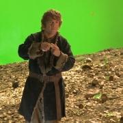 Bilbo se quita (o se pone) el Anillo