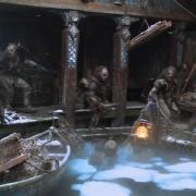 Los Orcos atacan Esgaroth