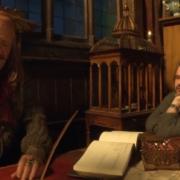 Stephen Fry y Peter Jackson