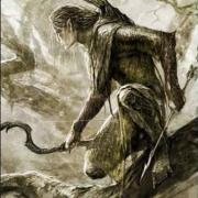 Boceto de Elfo del Bosque Negro