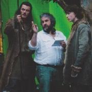 Luke Evans, Peter Jackson y John Bell