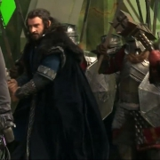 Thorin y un grupo de Enanos