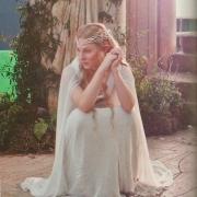 Cate Blanchett en el rodaje de El Hobbit