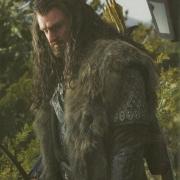 Richard Armitage en el rodaje de El Hobbit