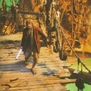 Martin Freeman en el rodaje de El Hobbit