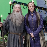 Ian McKellen y Hugo Weaving