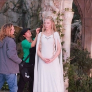 Cate Blanchett en el rodaje