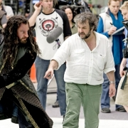 Richard Armitage y Peter Jackson