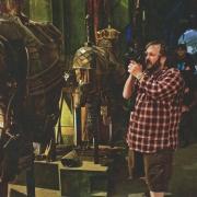Peter Jackson filma armaduras