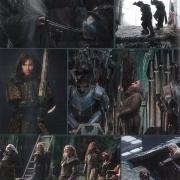 Imágenes varias de La Batalla de los Cinco Ejércitos