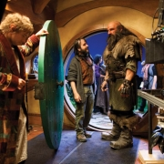 Martin Freeman, Peter Jackson y Graham McTavish