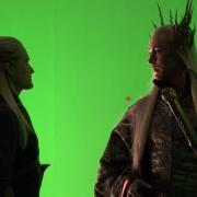 Legolas y Thranduil