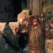 Bilbo, Bifur y Kili en Erebor