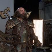 Dwalin con su armadura