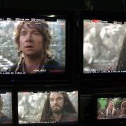 Thorin y Bilbo en la Colina del Cuervo