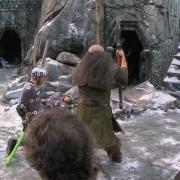 Dwalin acaba con un Orco