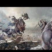 Boceto conceptual de la batalla