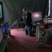 Peter Jackson ve el rodaje de una escena de Richard Armitage