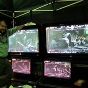 Peter Jackson en el rodaje de El Hobbit