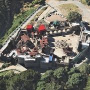 Vista aérea del decorado de Valle