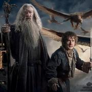 Banner de Gandalf, Bilbo y las Águilas