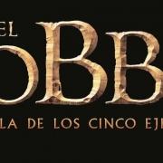 El Hobbit: La Batalla de los Cinco Ejércitos logo español