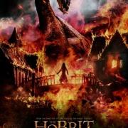 Poster de Smaug y Bardo de El Hobbit: La Batalla de los Cinco Ejércitos