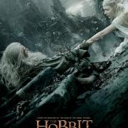 Poster de Gandalf y Galadriel en Dol Guldur de LBDLCE