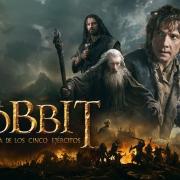 Banner final de El Hobbit: La Batalla de los Cinco Ejércitos