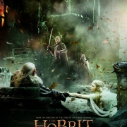 Poster del Concilio Blanco de El Hobbit: La Batalla de los Cinco Ejércitos